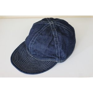 TCB40's CAP TCBjeans TCBジーンズ キャップ ワンウォッシュ|crossover-co