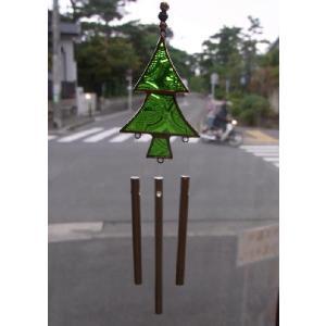 クリスマスツリーウィンドチャイム crossroad-cgsk