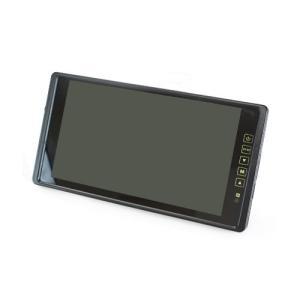 ルームミラーモニター 9インチ 「MM090A」 車載モニター フルミラー バックカメラ連動 24V対応 車用モニター[DreamMaker] crossroad2007 02