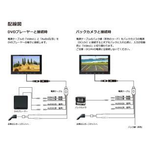 9インチ カーモニター 「MT090C」 フロントorリアスタンド仕様 オンダッシュモニター 車用モニター 車載モニター バックモニター[DreamMaker] crossroad2007 05