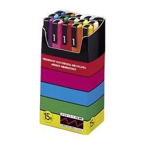 ポスカ 15色セット 細字丸芯 品番:PC3M1...の商品画像