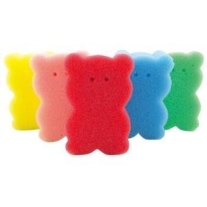 (ケース販売のみ・250個単位でご注文下さい) クマさんスポンジ1個  ・送料無料 ・粗品/記念品/販促品/賞品に最適!