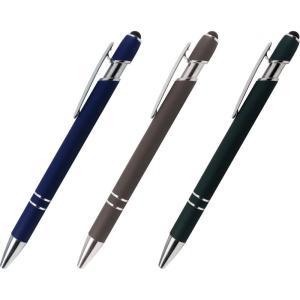 ケース販売のみ・300本単位でご注文下さい メタルラバータッチペン1本  ・送料無料 ・粗品/販促品に最適! crossshop2