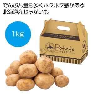 ケース販売のみ・16箱単位でご注文下さい 北海道産じゃがいも1kg  ・送料無料 ・粗品/販促品に最適!|crossshop2