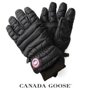 カナダグース CANADA GOOSE LIGHTWEIGHT GLOVE キルティング加工 グローブ ・5170L  送料無料|crouka
