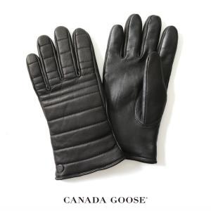 カナダグース CANADA GOOSE QUILTED LUXE GLOVE レザー グローブ ・5284M  送料無料|crouka