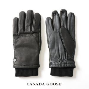 カナダグース CANADA GOOSE WORKMAN GLOVE ワークマン グローブ レザー ・5287M  送料無料|crouka