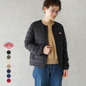 ダントン DANTON クルーネック 軽量 インナーダウンジャケット レディース メンズ 2021秋冬【一部予約商品】|crouka