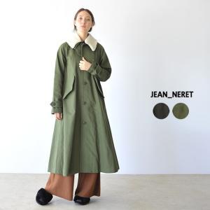 ジャンヌレ JEAN_NERET ラグランステンカラーコート ・JNC18-C41|crouka