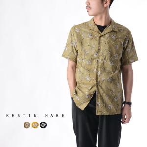 ケスティンエア KESTIN HARE CRAMMOND SHIRT FLORAL PRINT SHIRT フラワープリント オープンカラーシャツ ・KHSHSS1925|crouka