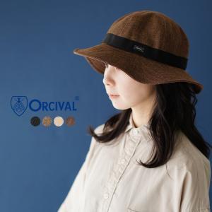プレミアム会員P5倍 オーシバル/オーチバル ORCIVAL Raffia Like Hat グログラン ハット 帽子 ・RC-7146RLP|crouka
