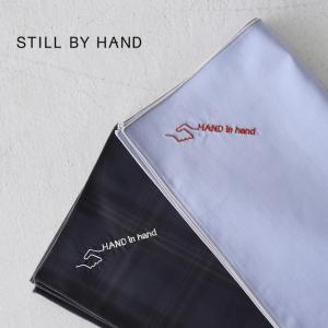 スティルバイハンド STILL BY HAND オリジナル ハンカチ HAND in hand コットン ハンカチーフ レディース メンズ 2020秋冬 20222 20223|crouka