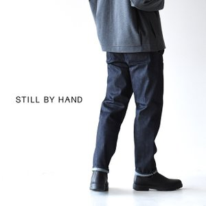 スティルバイハンド STILL BY HAND チビタック デニムパンツ メンズ ボトムス DN0393[クーポン対象外] 送料無料|crouka