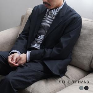 スティルバイハンド STILL BY HAND 2ボタン テーラード ジャケット メンズ 2021春夏 JK02211 送料無料  [spring]|crouka