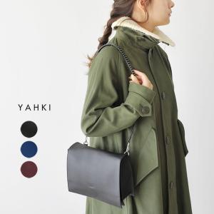 ヤーキ YAHKI スタッズ付き ショルダーバッグ ・YH-192 crouka