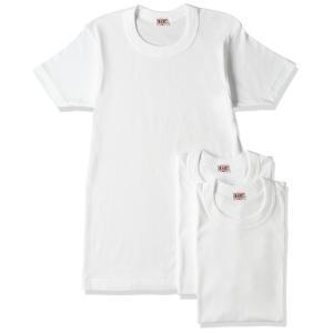 [ビー・ブイ・ディ] 丸首半袖Tシャツ3枚組 GOLD 綿100% G013TS3P メンズ ホワイト 日本 L (日本サイズL相当) crowded1381