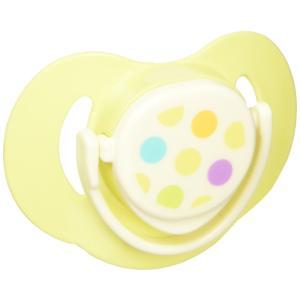 コンビ Combi テテオ teteo おしゃぶりキャップ付 サイズ2 グリーン (2・3ヵ月~10ヵ月頃まで) 赤ちゃんのお口に合わせた形とサイズ|crowded1381
