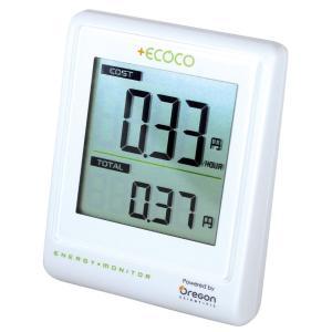 電力計 無線 節電アドバイザー ecoco EMS100J Oregon|crowded1381