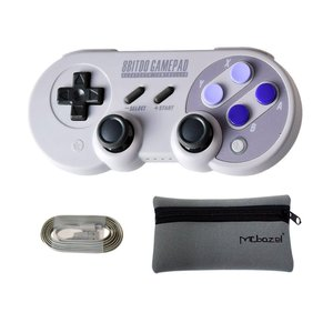 Mcbazel 8Bitdo SN30 Pro BluetoothワイヤレスコントローラーNS sw...