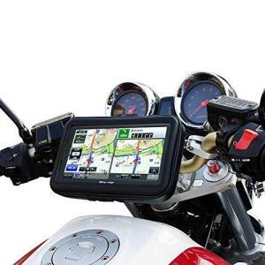 バイク用 ポータブルナビ バイクナビ 防水 7インチ ナビ カーナビ 2020年版 3年 地図更新無料 オービス マップ NV-A001E-SET4|crowded1381