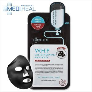 MEDIHEAL W.H.P 美白水分 ブラックマスクEX 1枚 韓国コスメ 韓国化粧品 マスクパッ...