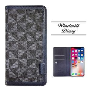 GalaxyFeel2 ケース カバー フィルム付き Galaxy Feel2 SC-02L sc02l Note9 Note8 手帳型 S9+ S9 Feel 手帳 S8+ S8 S7 S6 Edge 手帳型ケース WINDMILL NAVY|crown-shop