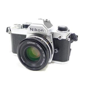 Nikon ニコン FM レンズ付き レンズ NIKKOR 50mm 1:1.8 フィルムカメラ ユニセックス 中古  A-ランク