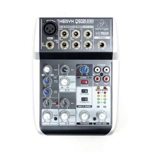 BEHRINGER ベリンガー ★USBオーディオミキサー XENYX Q502USB 楽器アクセサ...