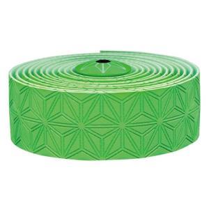 supacaz  (スパカズ) KUSH Single ネオングリーン バーテープ|crowngears