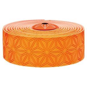 supacaz  (スパカズ) KUSH Single ネオンオレンジ バーテープ|crowngears