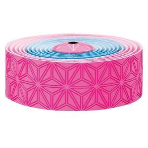 supacaz  (スパカズ) KUSH Multi ネオンピンク/ネオンブルー バーテープ|crowngears