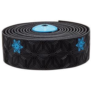 supacaz  (スパカズ) KUSH Galaxy ネオンブルー バーテープ|crowngears