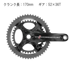 Campagnolo (カンパニョーロ) RECORD カーボン 170mm 52X36T 11S クランク|crowngears