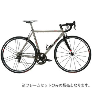DE ROSA (デローザ)Titanio 3.25 Ti/Black WMNサイズ44SL (162-167cm)フレームセット|crowngears