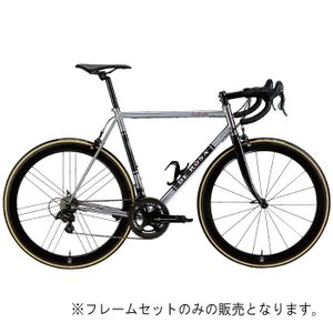 DE ROSA (デローザ)AGE アジェ Inossidabile Inox Blackサイズ60 (183-188cm)フレームセット|crowngears
