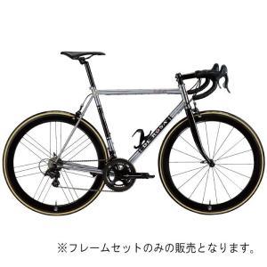 DE ROSA (デローザ)AGE アジェ Inossidabile Inox Blackサイズ61 (185-190cm)フレームセット|crowngears