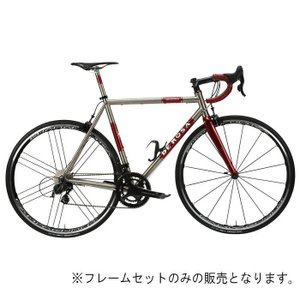 DE ROSA (デローザ)Titanio TREDUECINQUE Ti/Redサイズ57 (178-183cm)フレームセット|crowngears