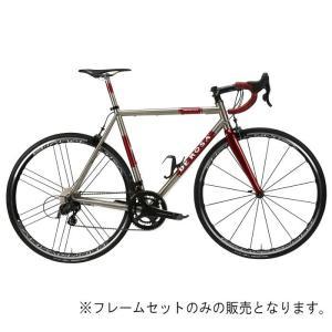 DE ROSA (デローザ)Titanio TREDUECINQUE Ti/Red WMNサイズ49 (166-171cm)フレームセット|crowngears