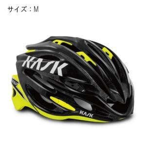 KASK(カスク) VERTIGO 2.0 ヴァーティゴ 2.0 ブラック/イエローフルオ サイズM ヘルメット 【自転車】|crowngears