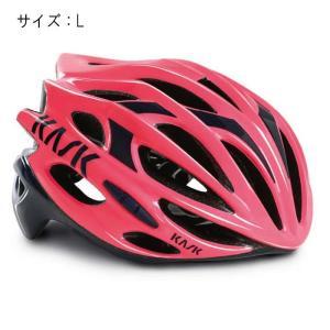 KASK(カスク) MOJITO モヒート ピンク/ネイビーブルー サイズL ヘルメット 【自転車】|crowngears