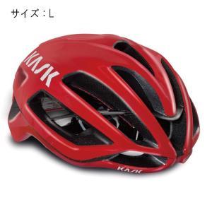 KASK(カスク) PROTONE プロトーン レッド サイズL ヘルメット 【自転車】|crowngears
