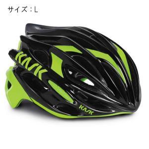 KASK(カスク) MOJITO モヒート ブラック/ライム サイズL ヘルメット 【自転車】|crowngears