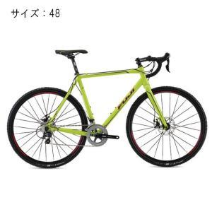 ロードバイク FUJI(フジ) 2016モデル CROSS 1.5 ライムグリーン サイズ48(160-168cm)【アウトレット】|crowngears