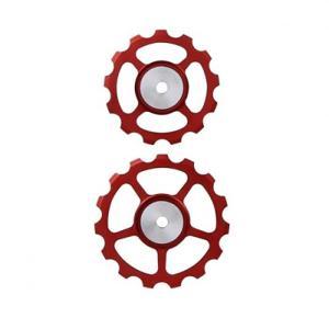 BERNER(バーナー) セラミックプーリー SET 13T-15T RED crowngears