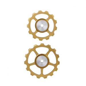 BERNER(バーナー)セラミックプーリー SET 13T-15T GOLD crowngears