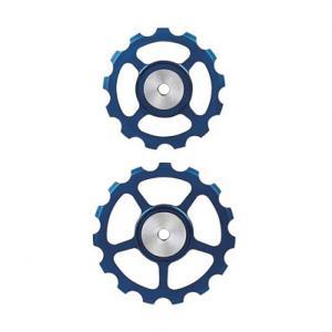 BERNER(バーナー)セラミックプーリー SET 13T-15T BLUE crowngears