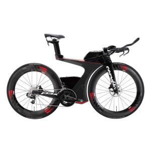 Cervelo (サーベロ)2018モデル P5X SRAM eTap ブラック/レッドサイズ51 (170-175cm)ロードバイク