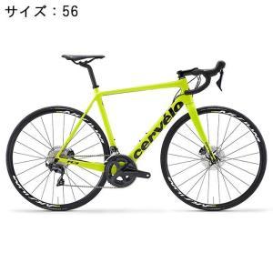 Cervelo (サーベロ) 2018モデル R3 Disc R8070 フルオイエロー/ブラック サイズ56(179-184cm)ロードバイク|crowngears