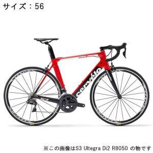 Cervelo (サーベロ)2018モデル S3 ULTEGRA R8000 11S レッド/ブラック 56(179-184cm)ロードバイク|crowngears