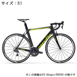 Cervelo (サーベロ) 2018 S3 ULTEGRA Di2 R8050 11S グレー/ブラック 51(170-175cm)ロードバイク|crowngears